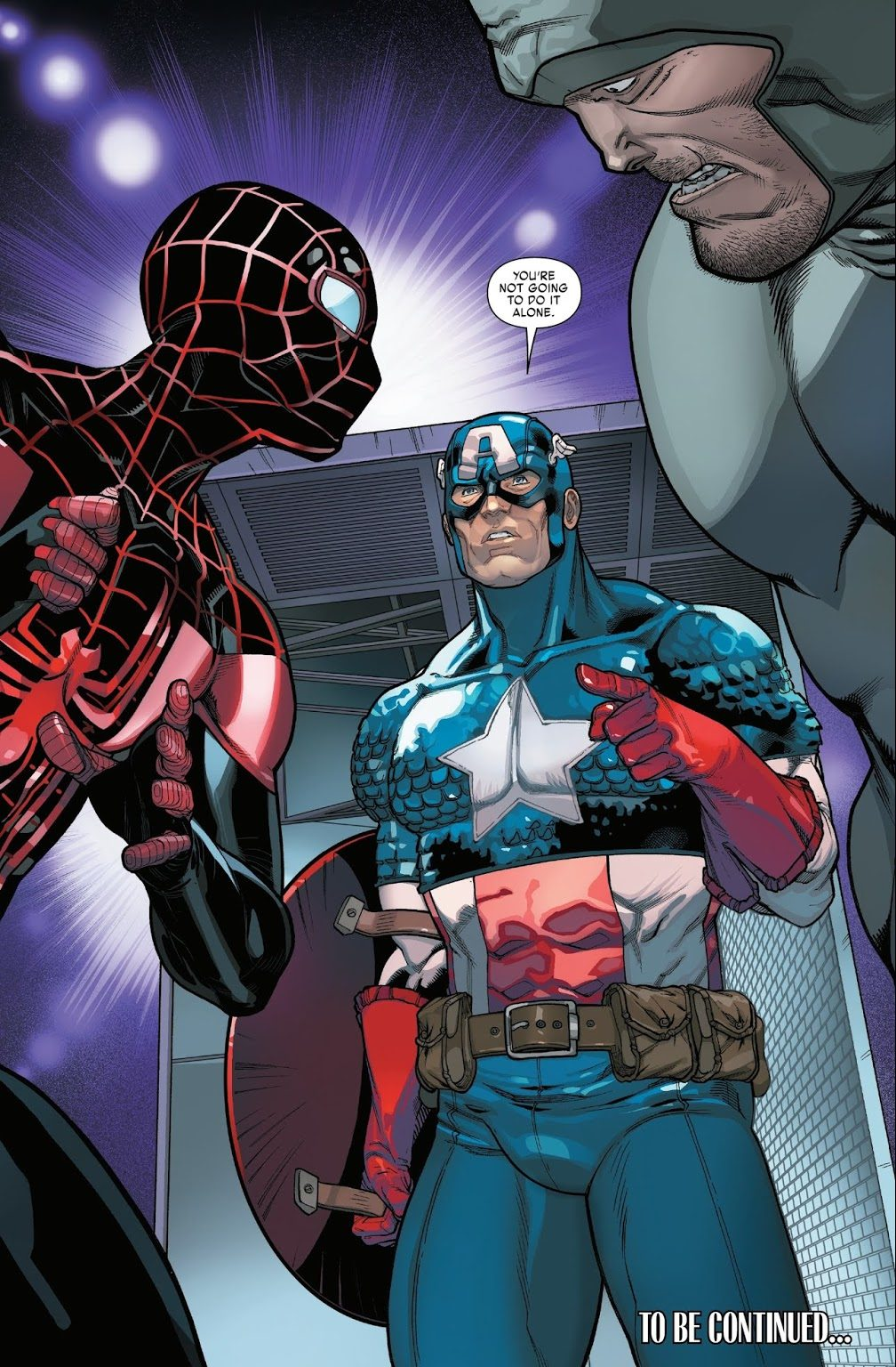 Captain America (Miles Morales: Spider-Man #2)