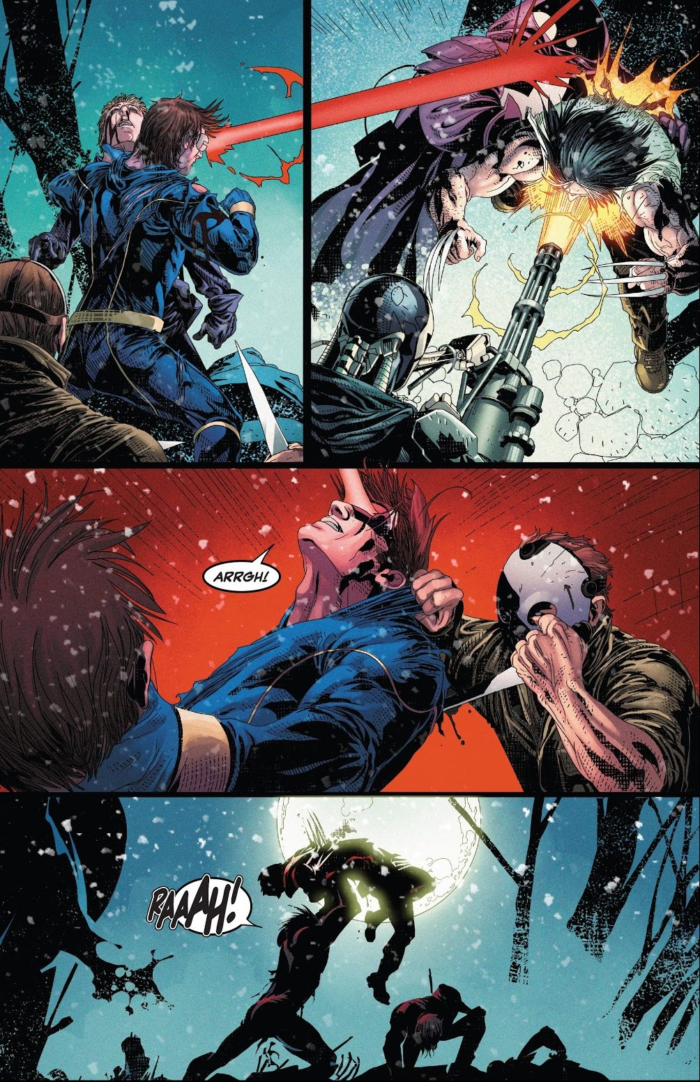 Cyclops And Wolverine Reunited