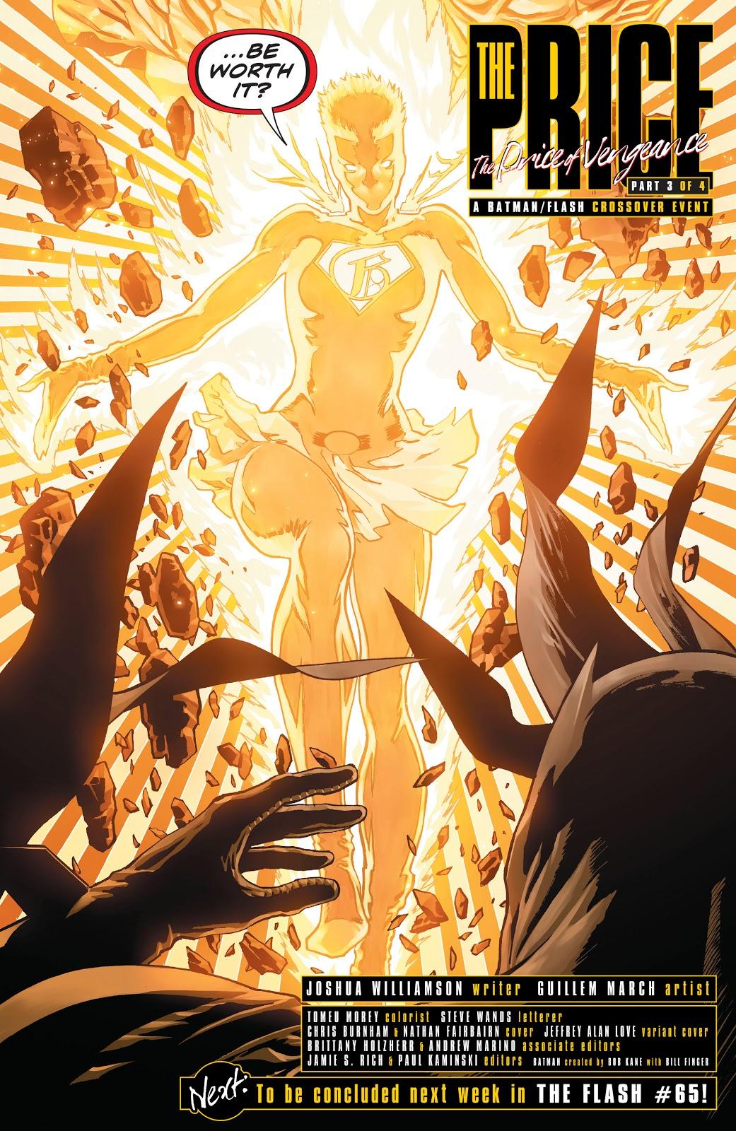 Gotham Girl Unleashes Her Full Powers