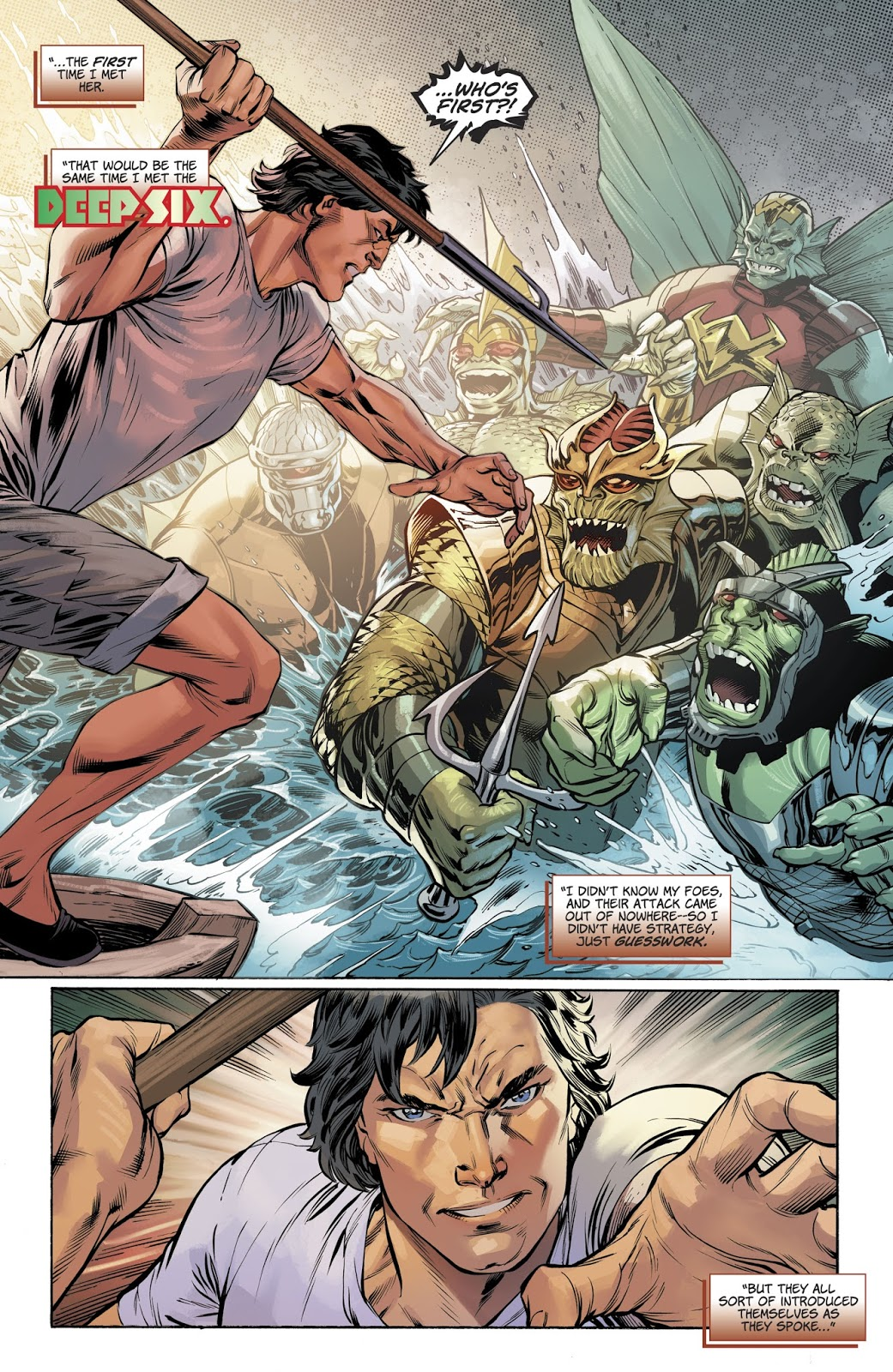 Jason VS The Deep Six