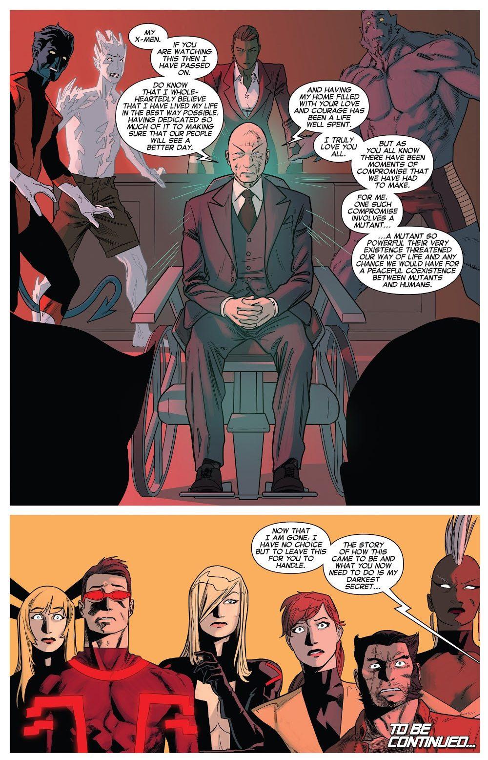 Professor X Married Mystique