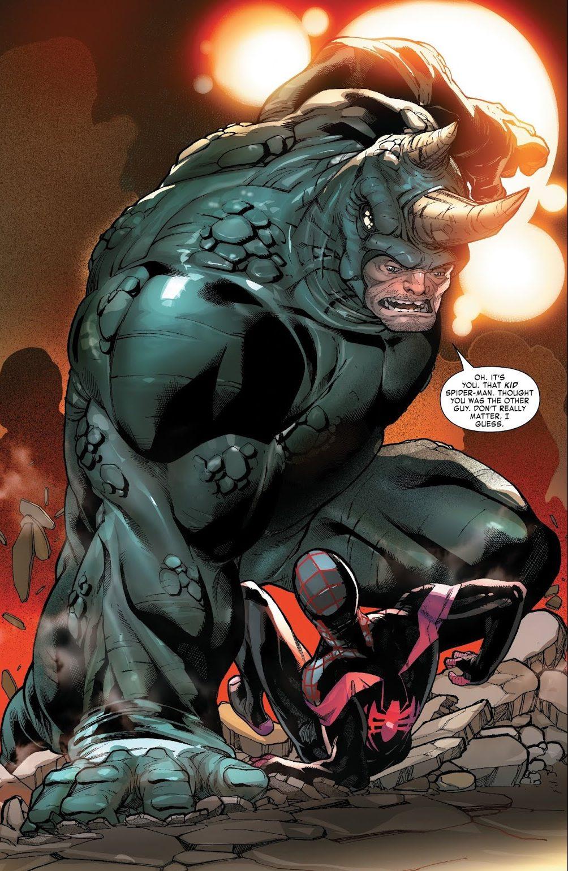 Rhino (Miles Morales: Spider-Man #1)