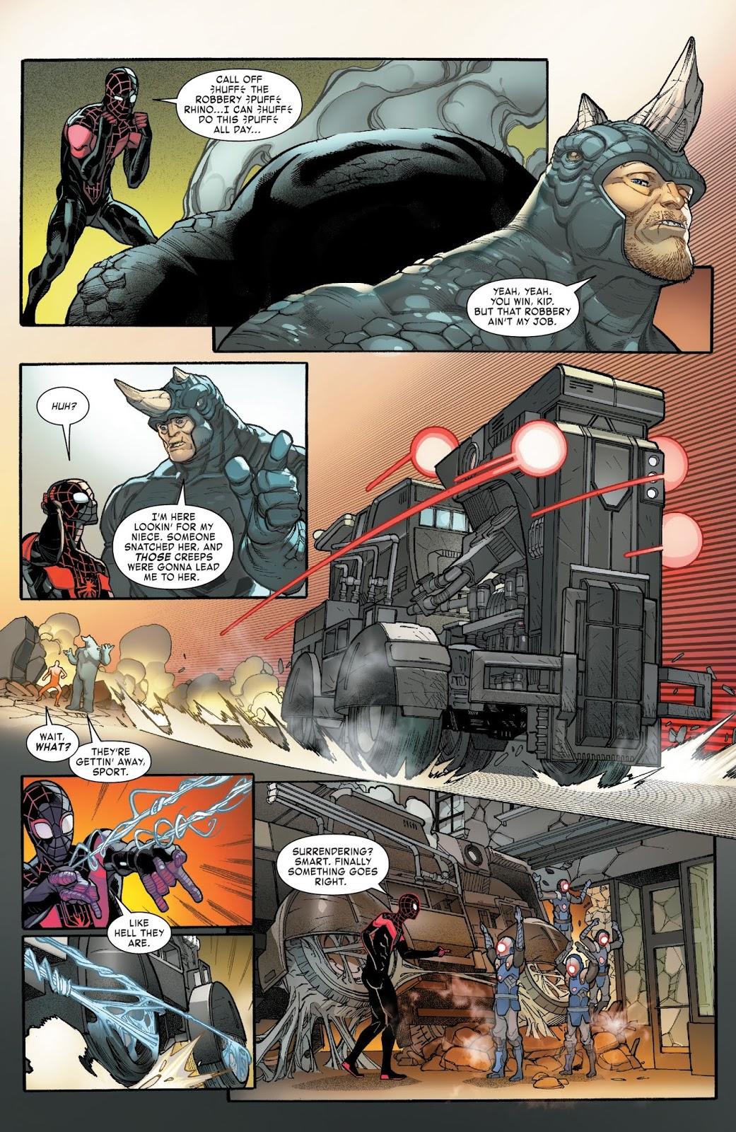 Spider-Man Miles Morales VS The Rhino