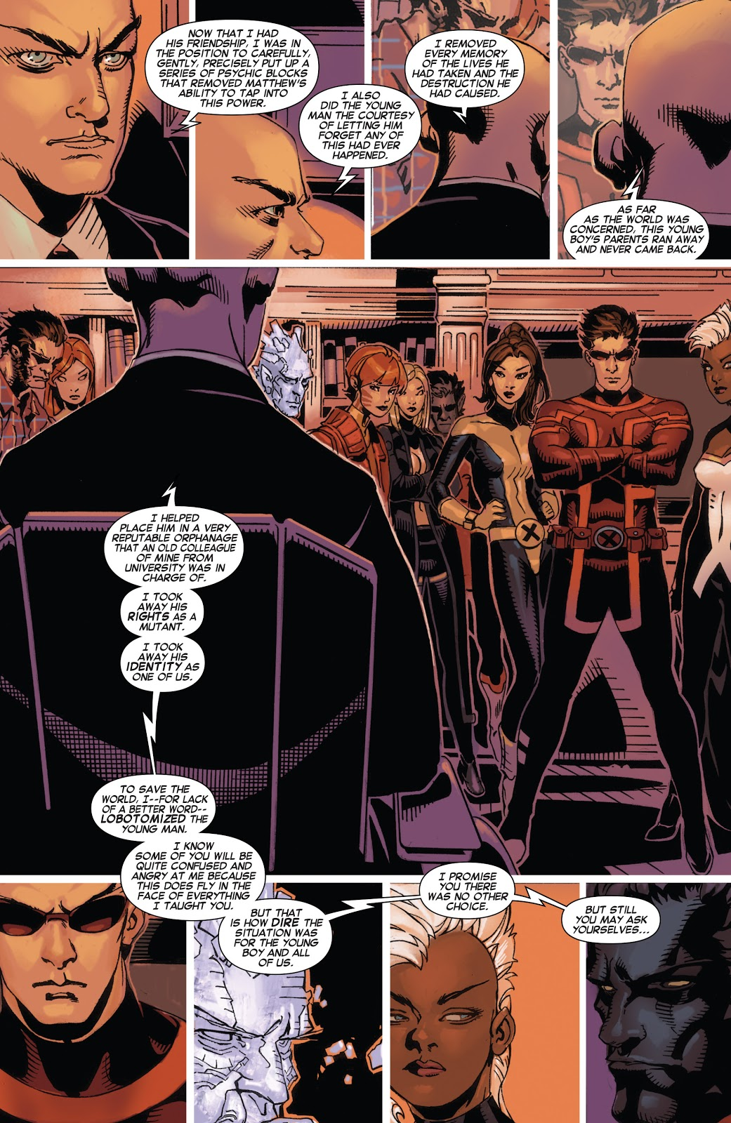 Why Professor X Was Afraid Of Matthew Mallow