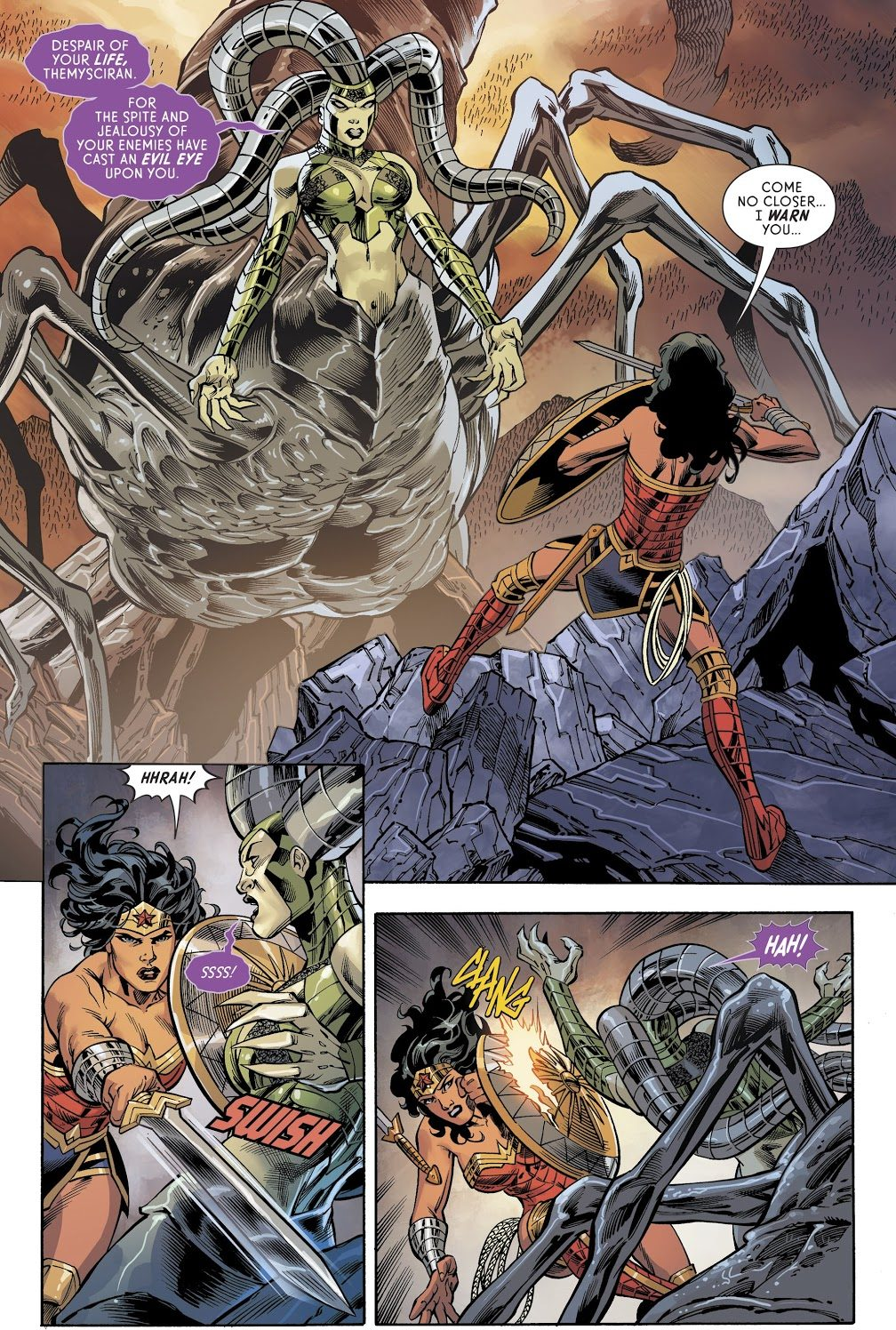 Wonder Woman VS Nemesis (Rebirth)