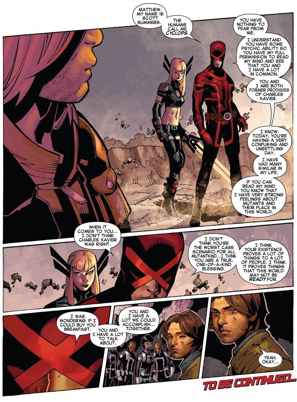Cyclops Tries To Recruit Matthew Malloy