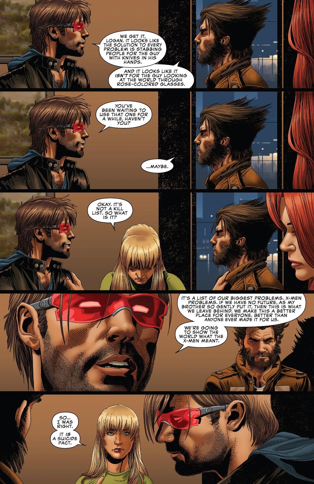Cyclops's Plan For The Surviving X-Men