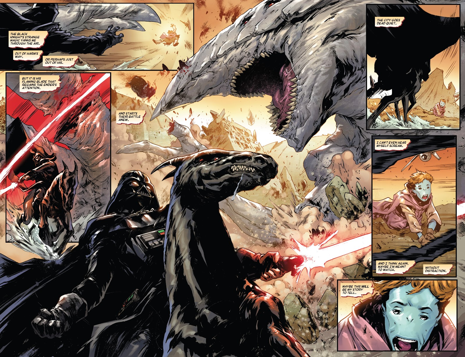 Darth Vader VS The Ender