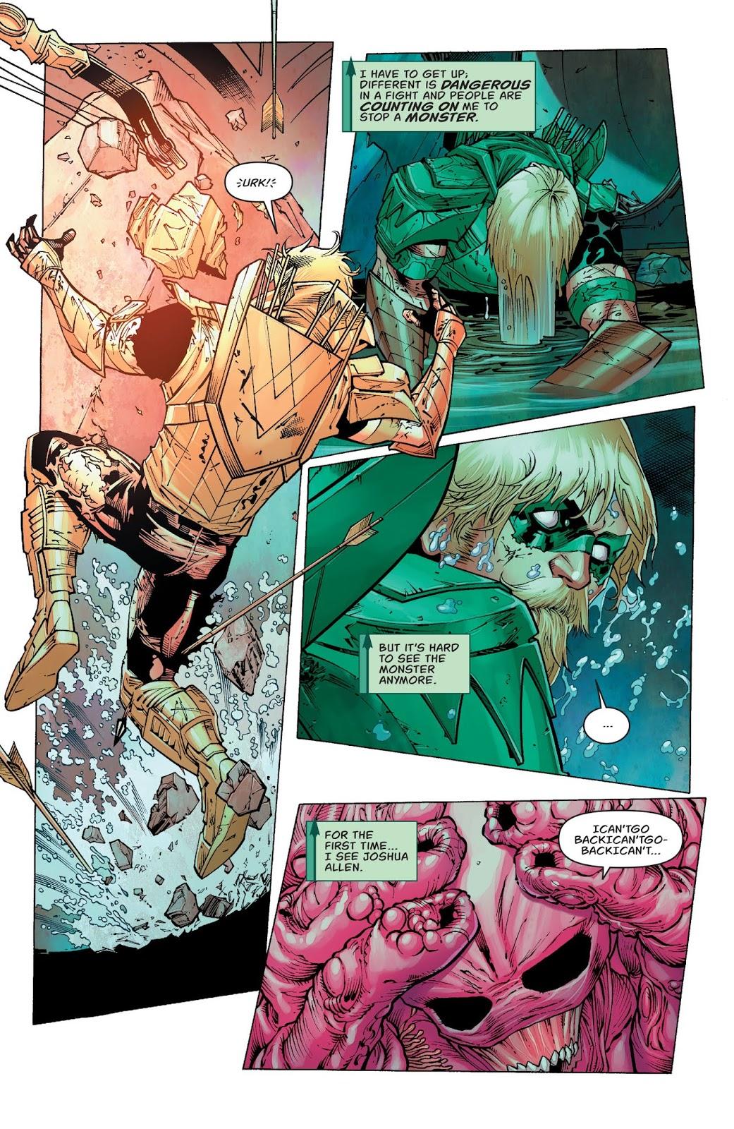 Green Arrow VS Parasite (Rebirth)