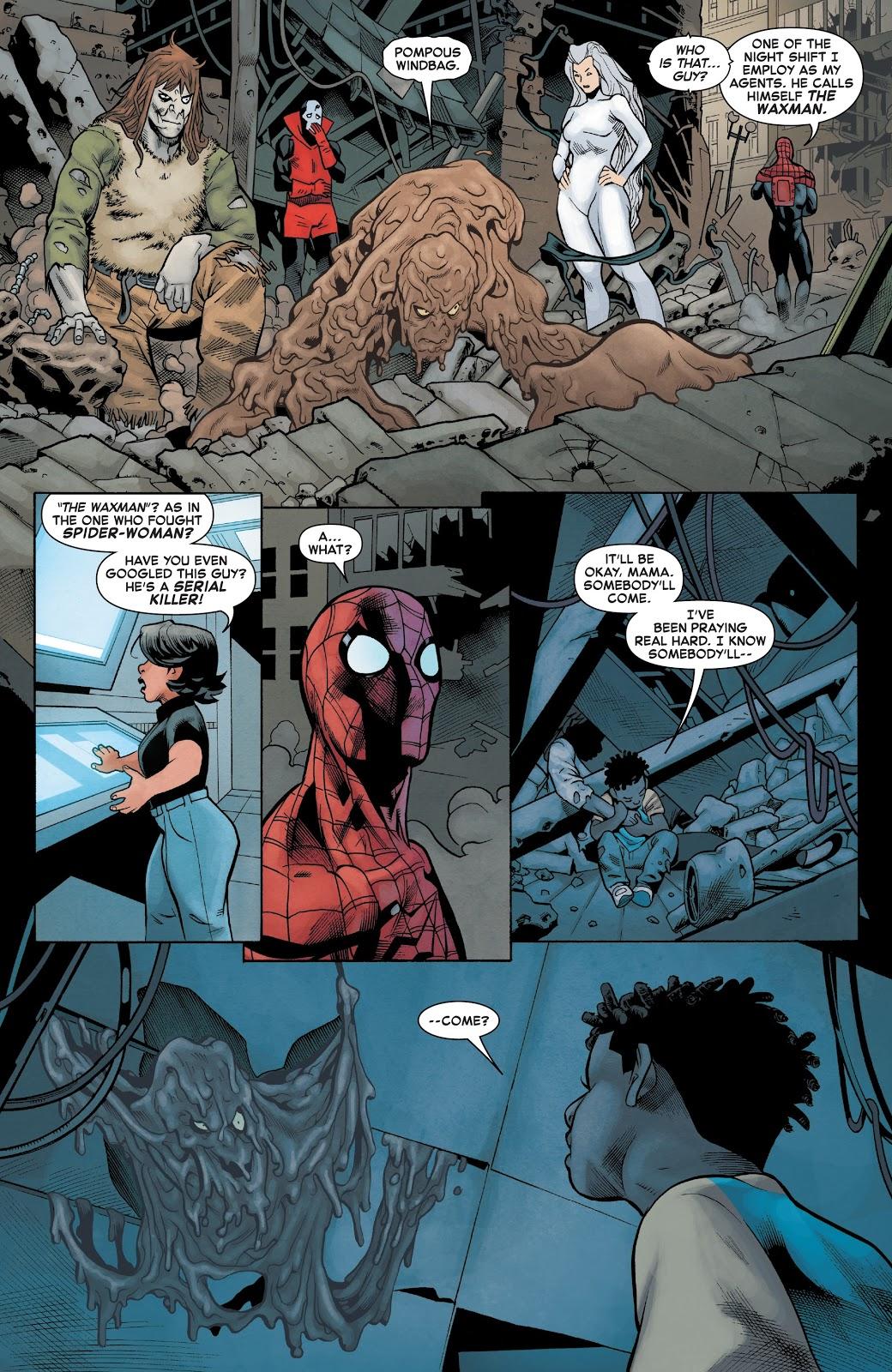 Superior Spider-Man VS Waxman