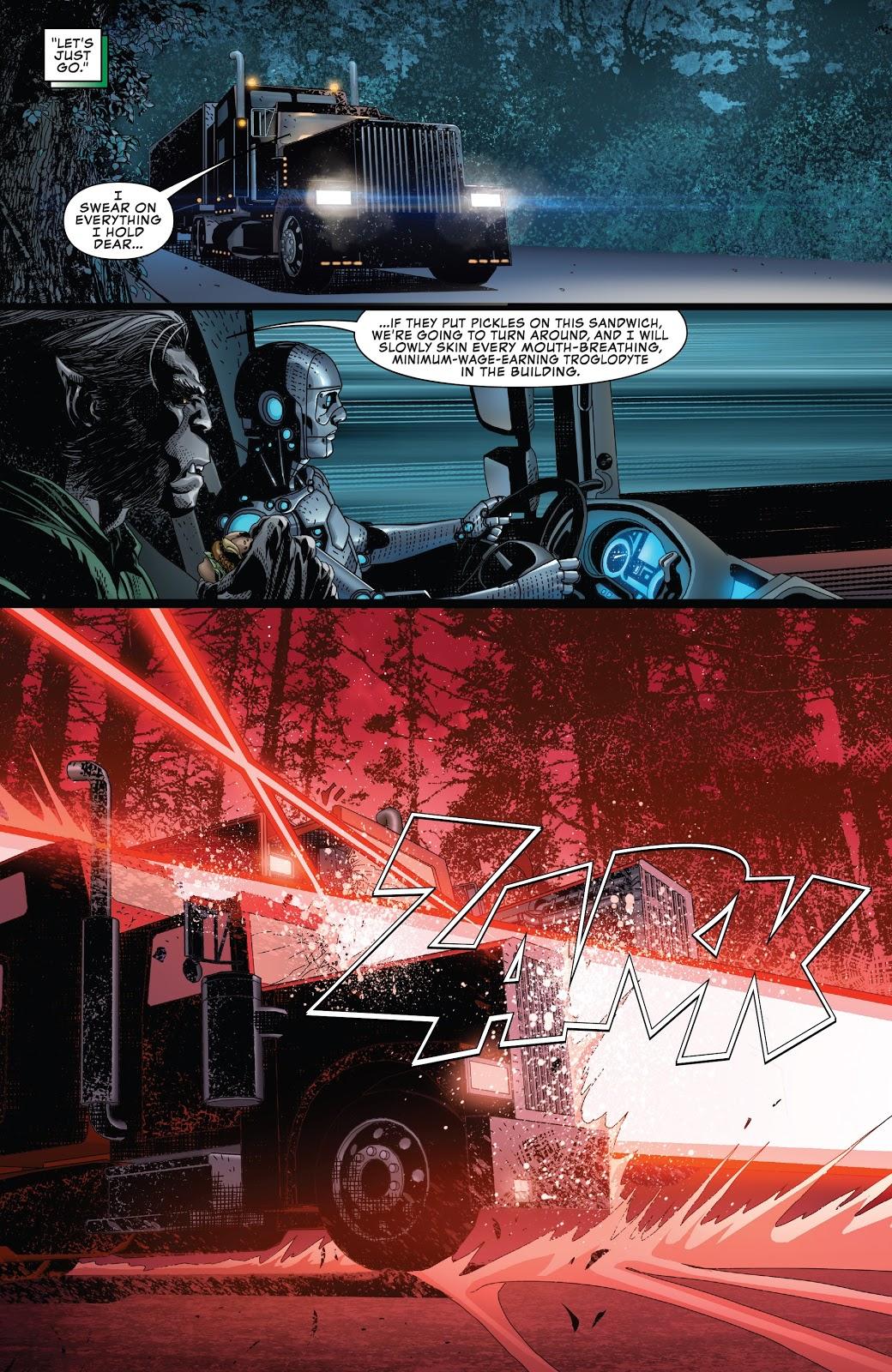 X-Men VS Cyborg Dark Beast