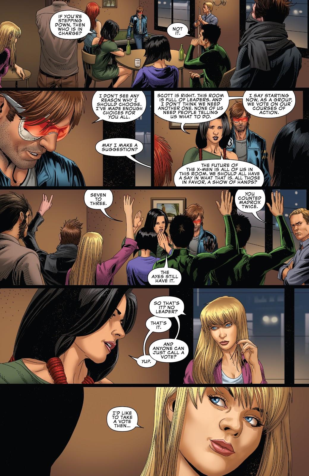 Cyclops Steps Down As The X-Men's Leader