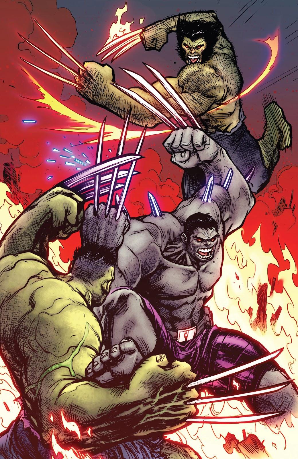 Hulkverine VS Wolverine And The Hulk