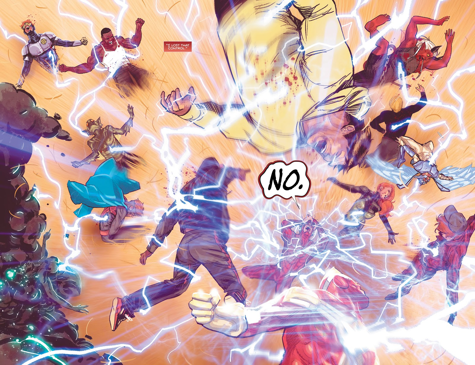 Wally West Kills Everyone in Sanctuary (Heroes In Crisis)