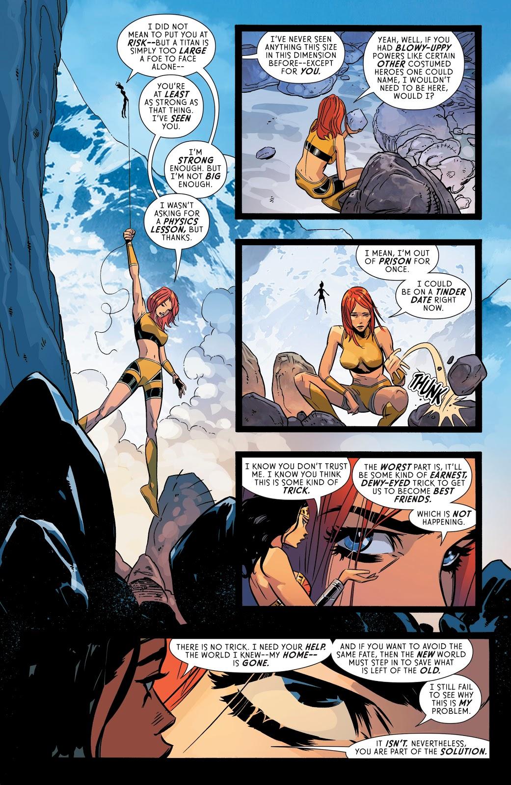 Wonder Woman Hires Giganta (Rebirth)