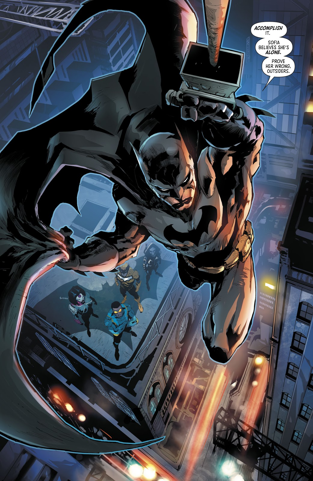 Batman And The Outsiders Vol. 3 #1
