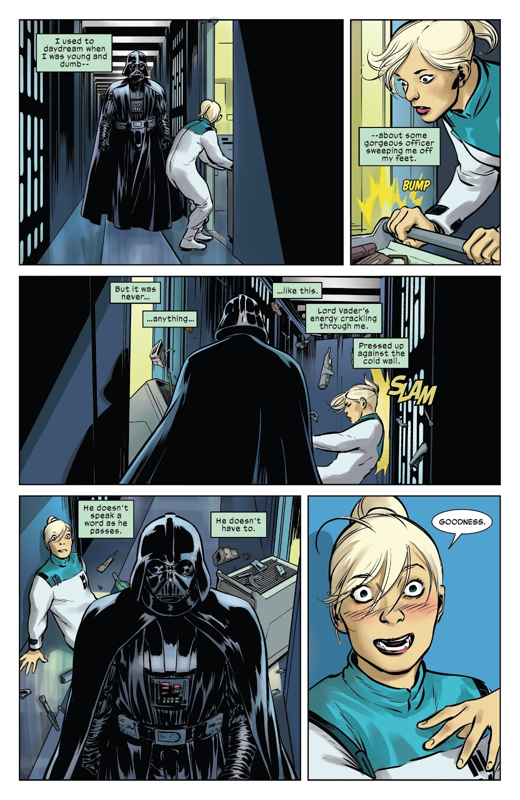 Darth Vader Has A Crazy Stalker