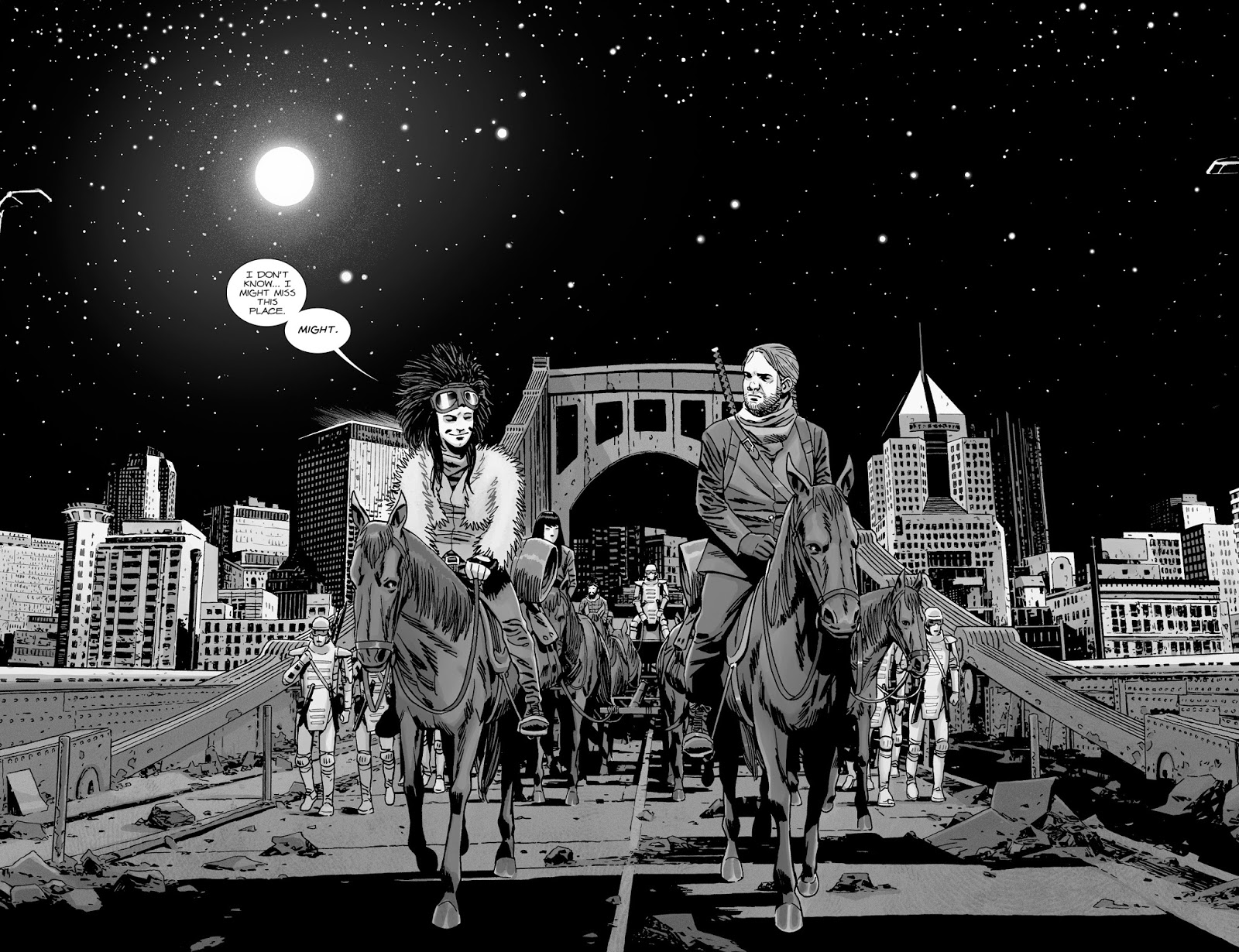 Eugene Porter And Juanita Sanchez (The Walking Dead #179)