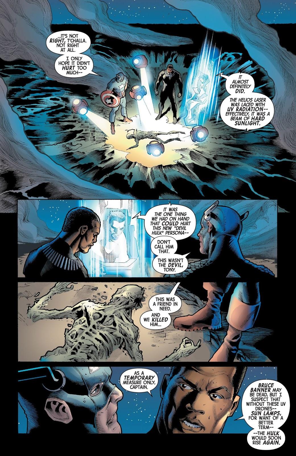 How Iron Man Defeated The Immortal Hulk