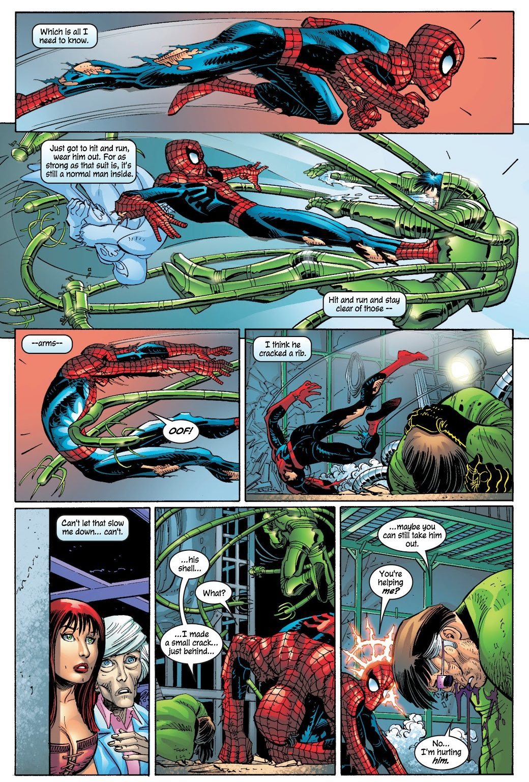 Spider-Man And Doctor Octopus VS Luke Carlyle