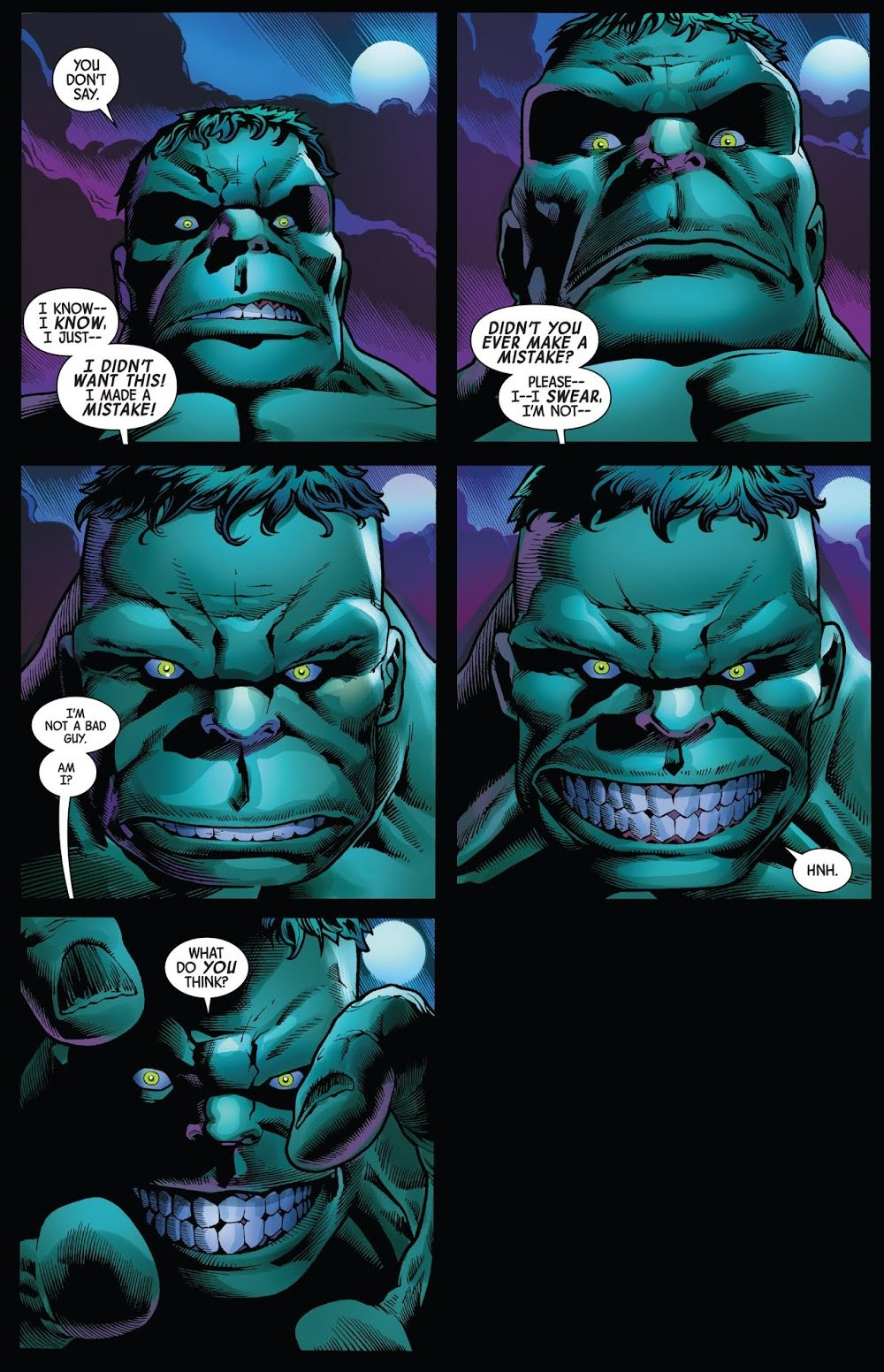 The Hulk (Immortal Hulk #1)