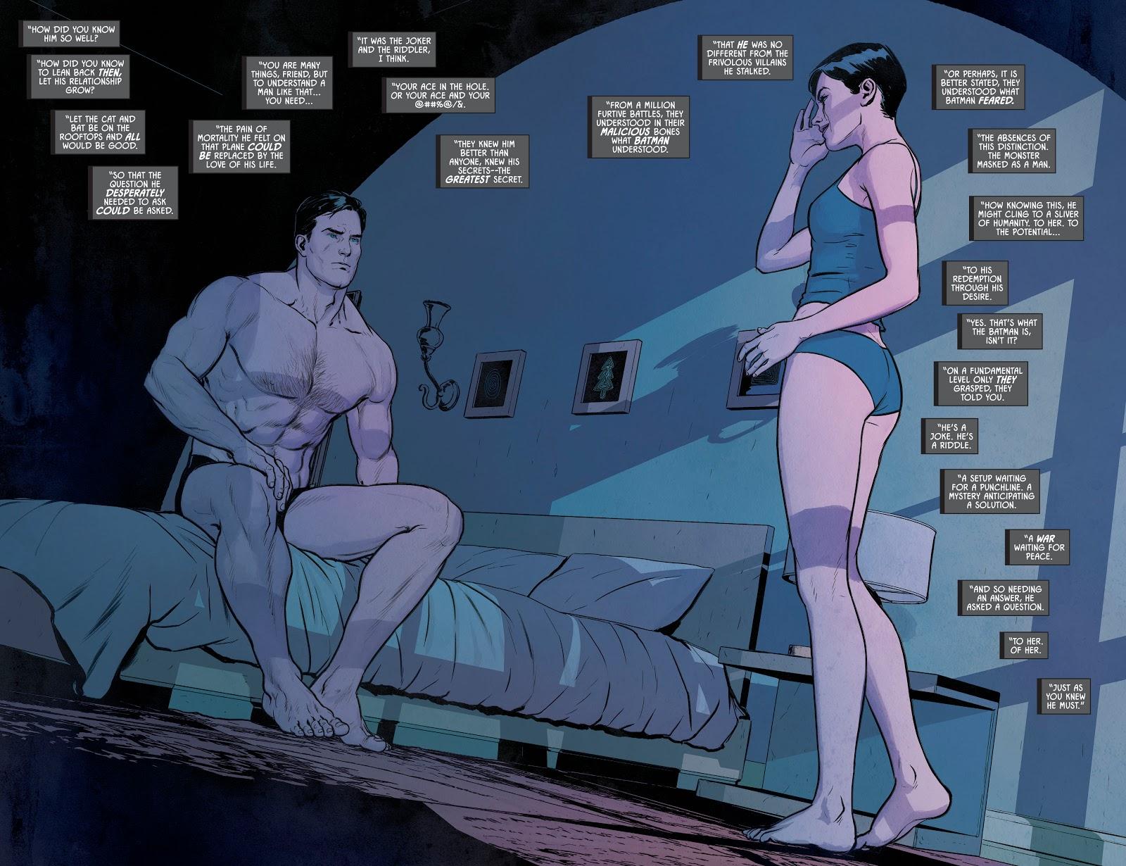 Bruce Wayne And Selina Kyle (Batman Vol. 3 #72)