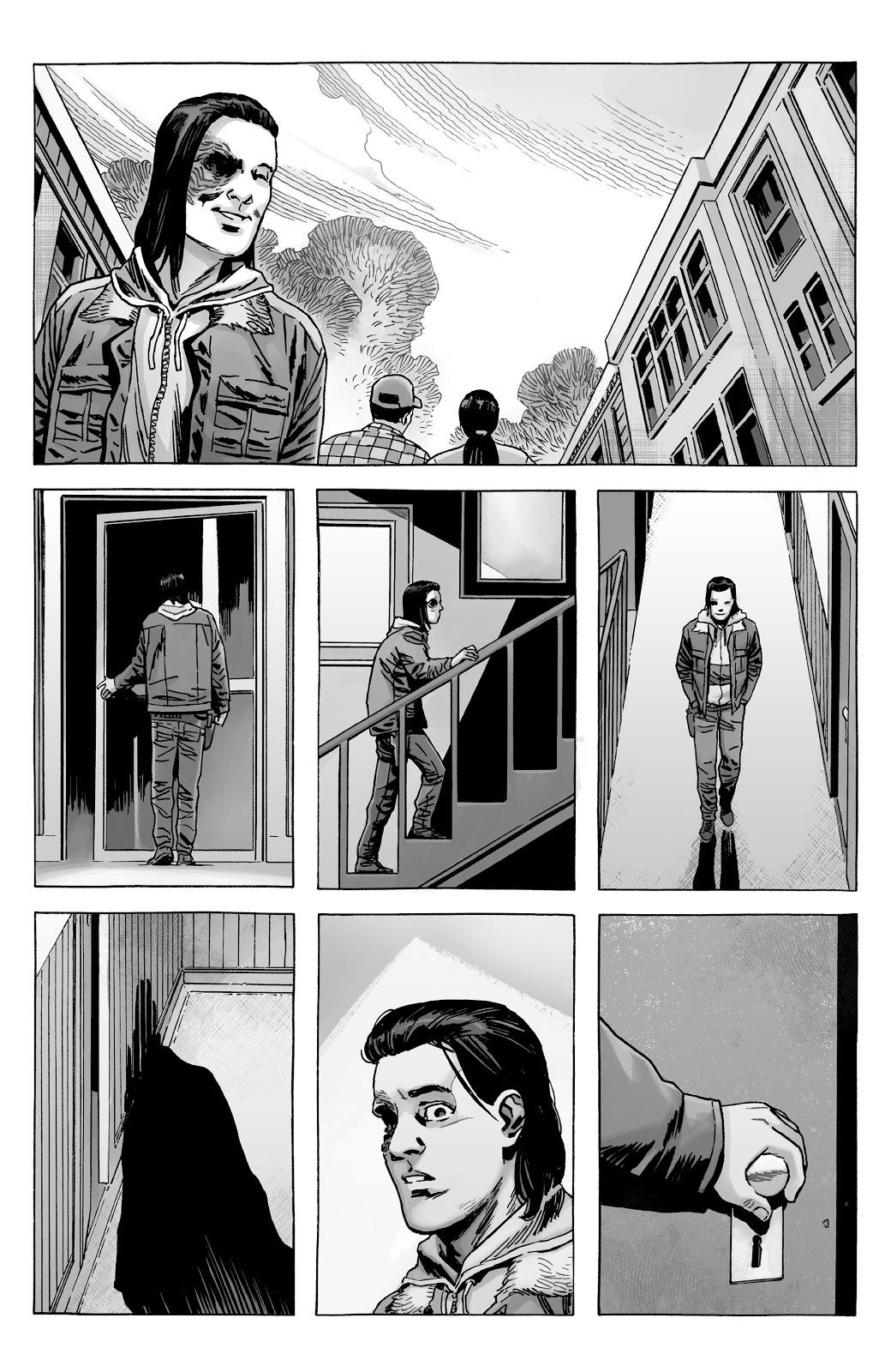 Carl Grimes Kills Zombie Rick Grimes (The Walking Dead)
