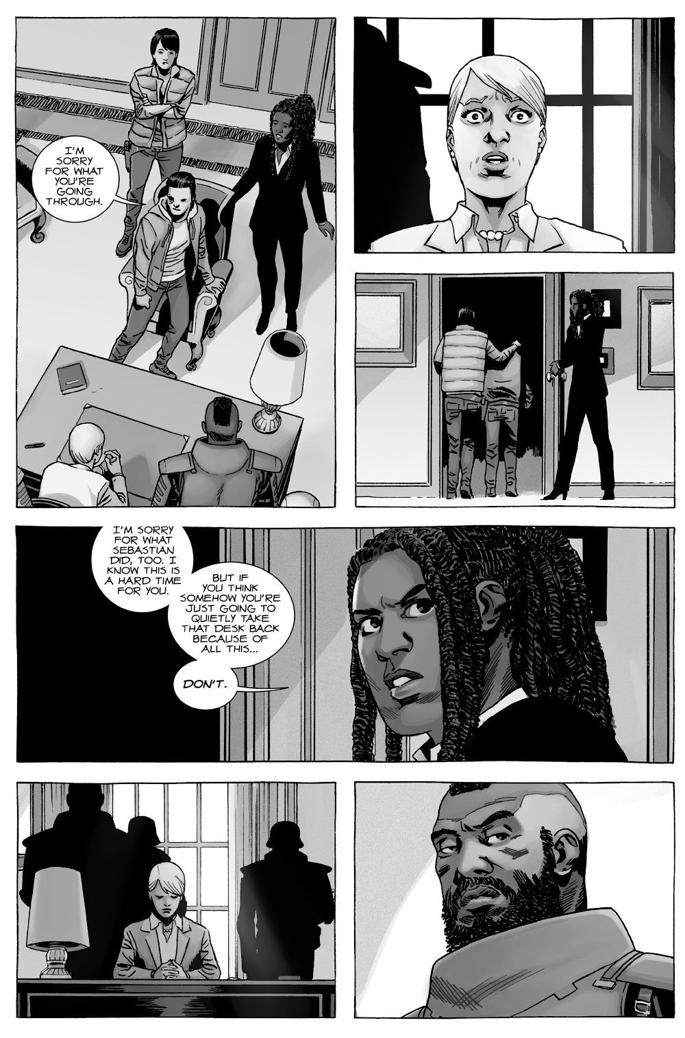 Carl Grimes's Threat To Spencer Milton (The Walking Dead)