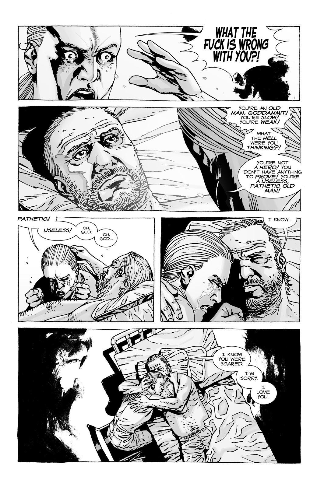 Dale's Let Gets Amputated (The Walking Dead)