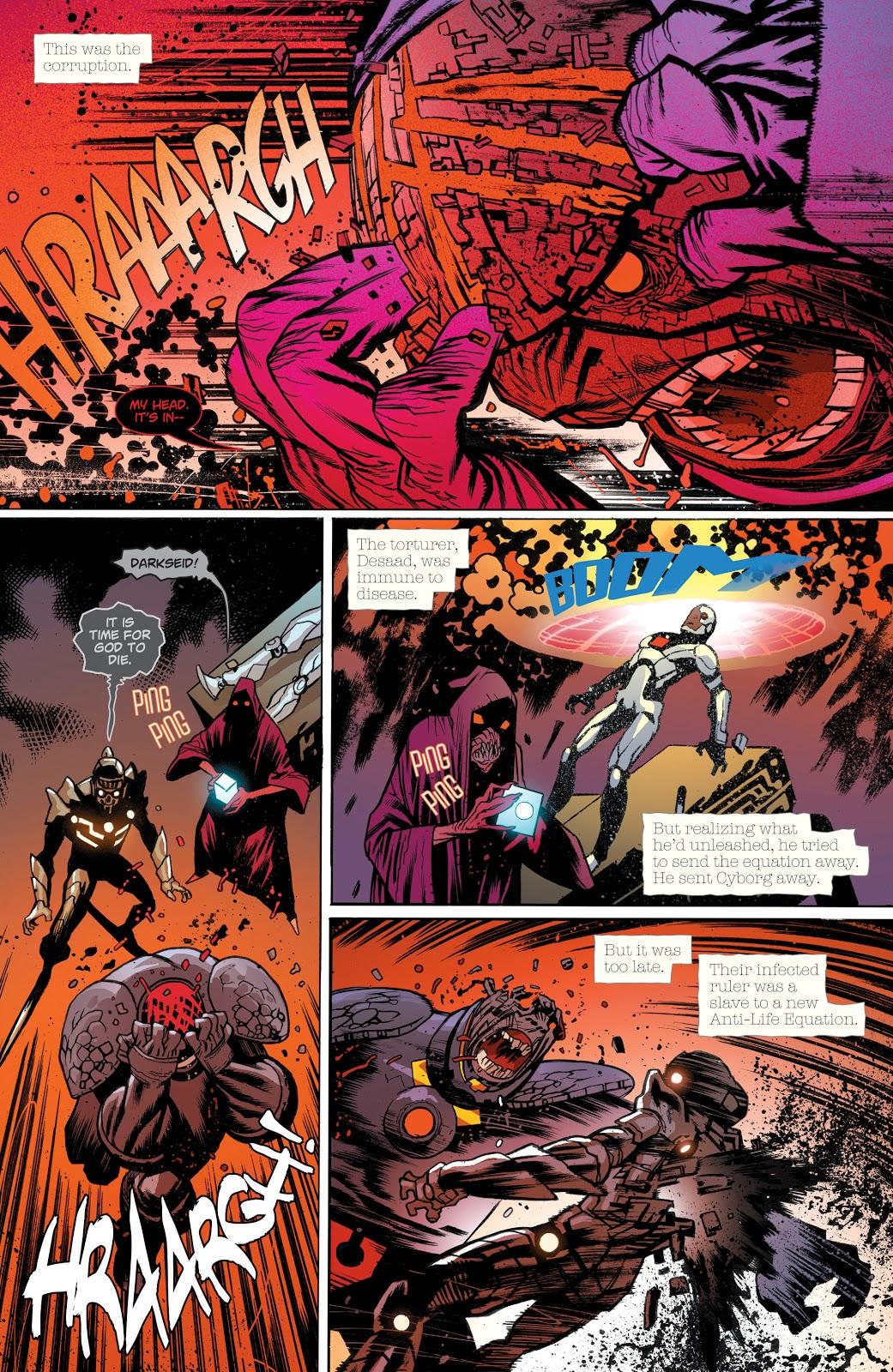 Darkseid Commits Suicide (DCeased)