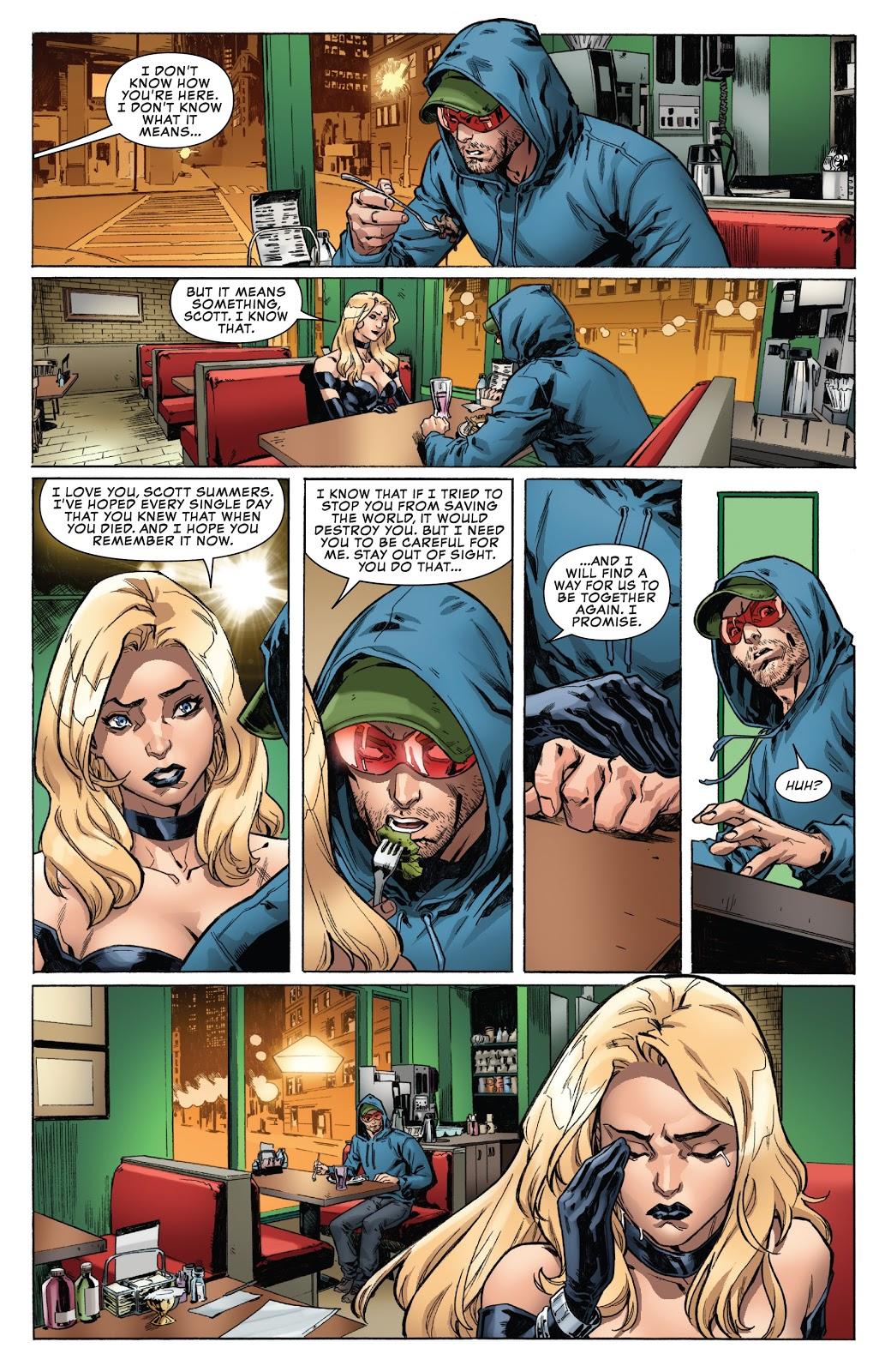 Emma Frost Still Loves Cyclops (Uncanny X-Men Vol. 5 #19) 2