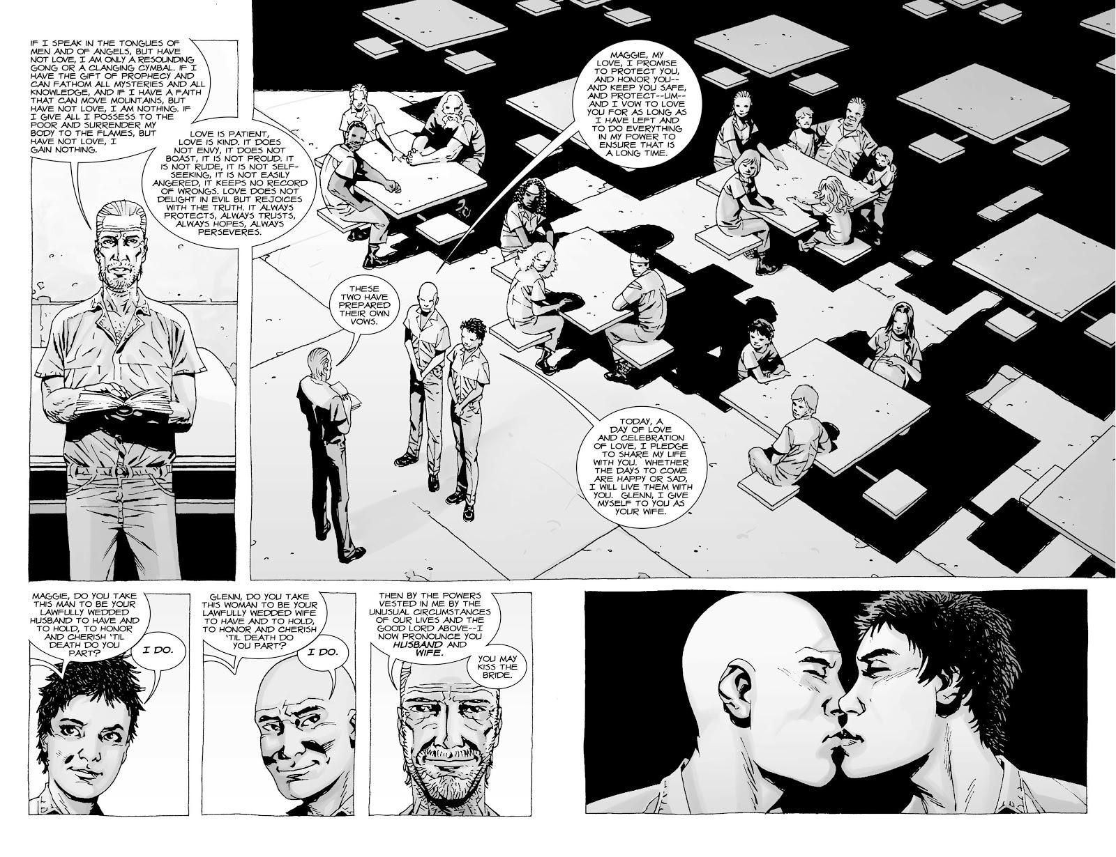 Glenn Rhee And Maggie Greene's Wedding (The Walking Dead)