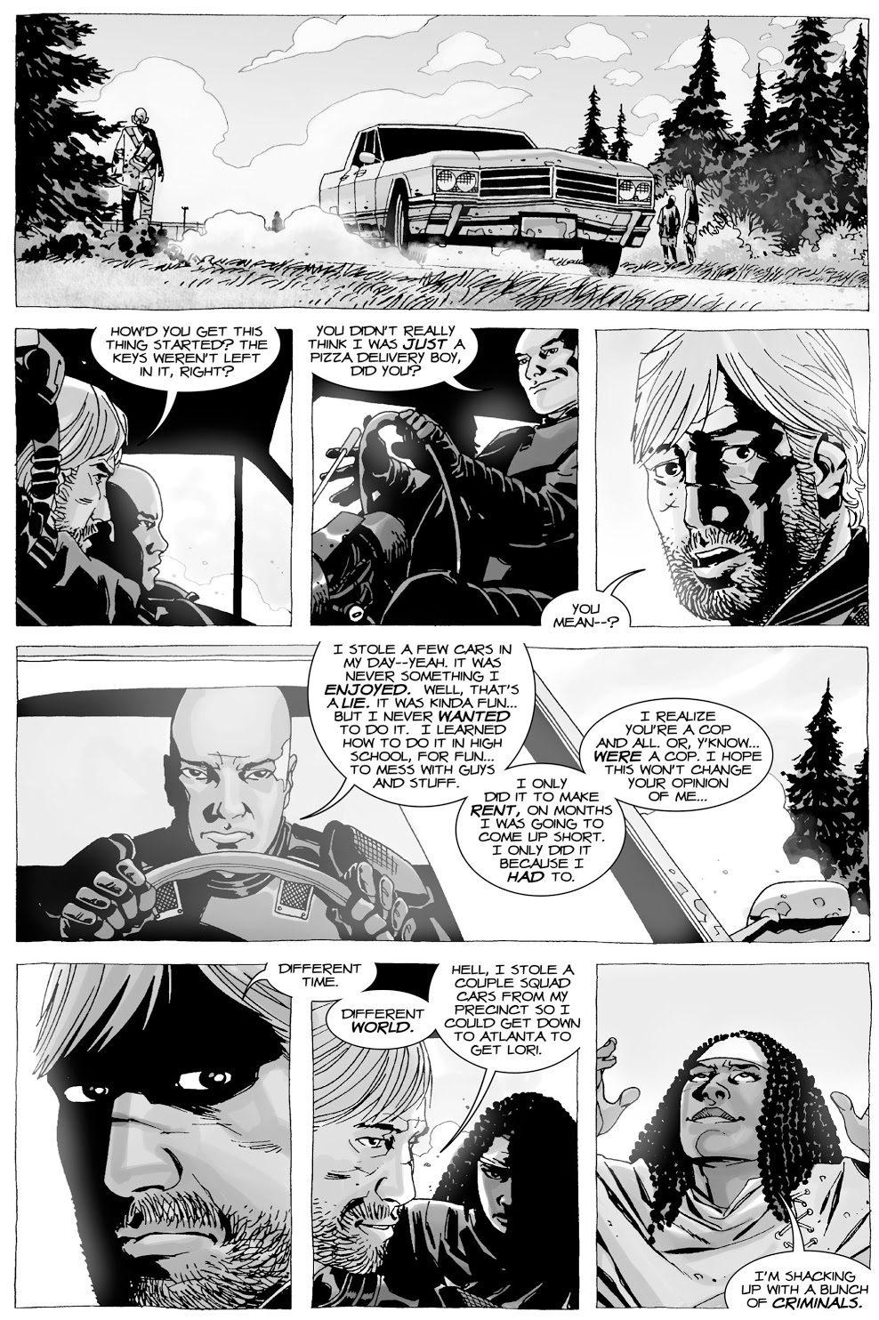 Glenn Rhee's Criminal Past (The Walking Dead)