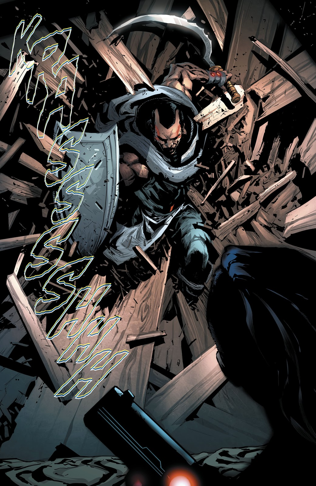 Ishmael (Batman And The Outsiders Vol. 3 #2)