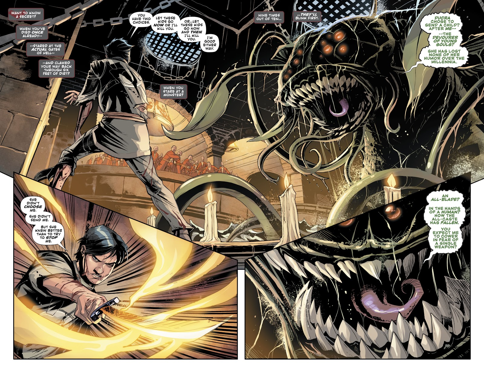 Jason Todd Defeats The Behemoth