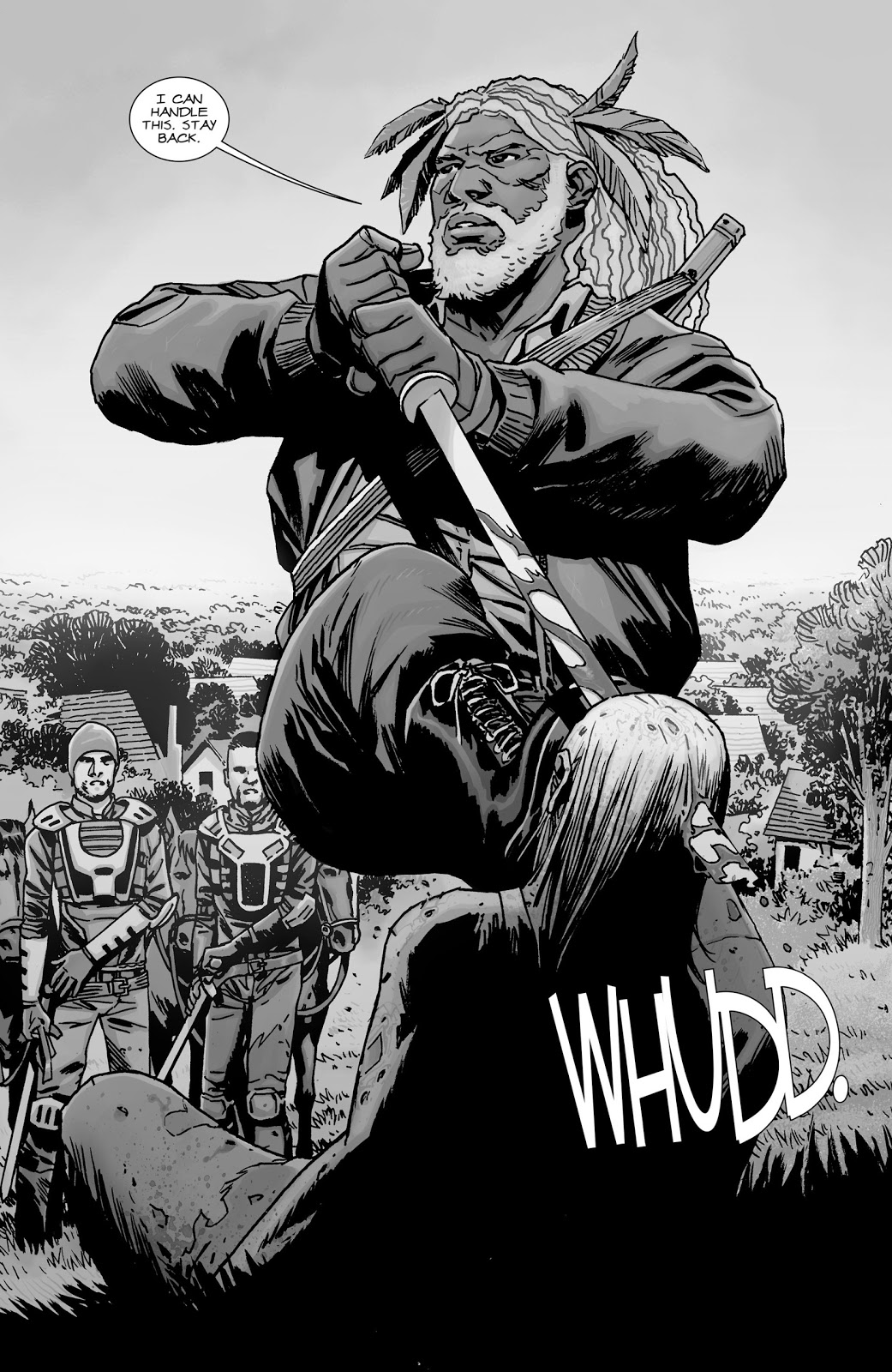 King Ezekiel (The Walking Dead #139)