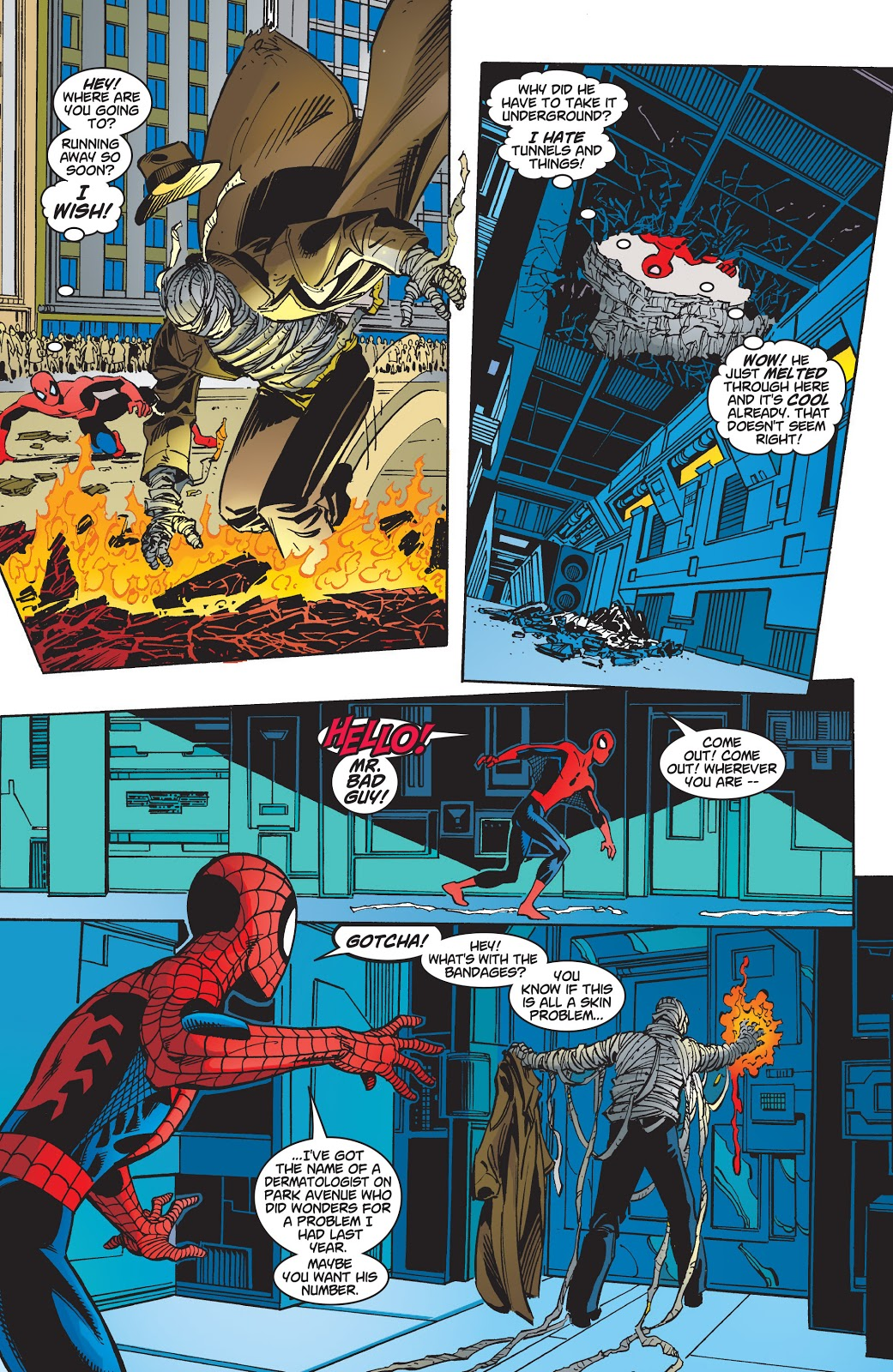 Spider-Man (Martha Franklin) VS Shadrac