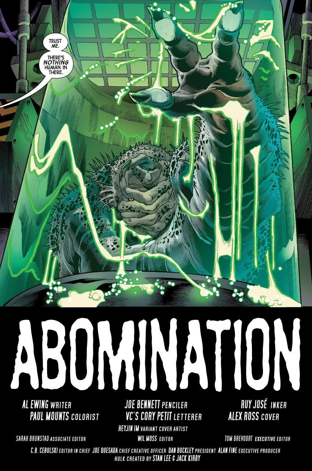 Subject B (The Immortal Hulk #17)