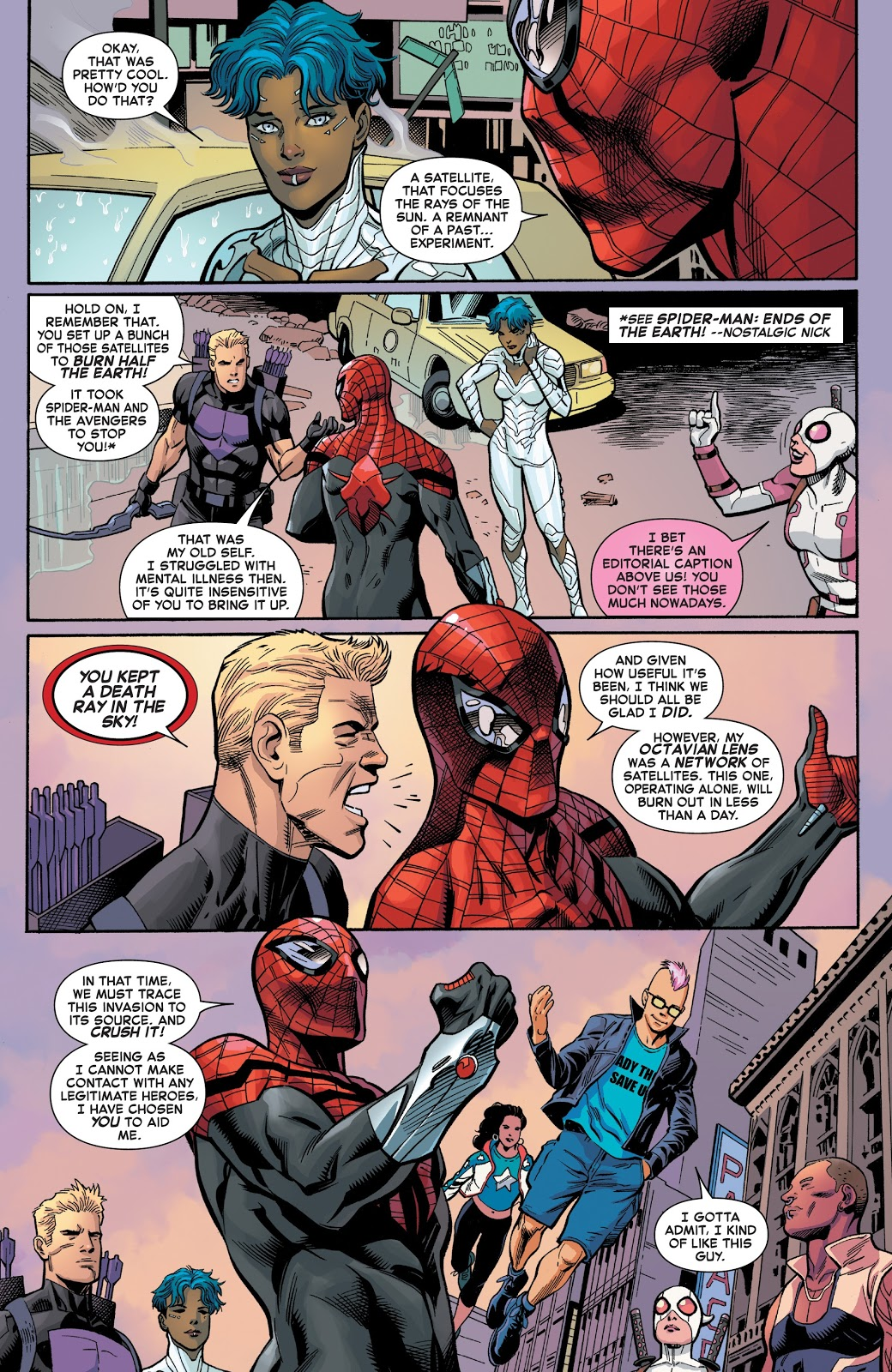 Superior Spider-Man Meets Gwenpool