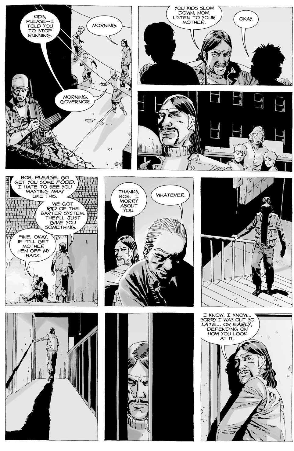 The Governor Keeps Penny Blake As A Pet (The Walking Dead)