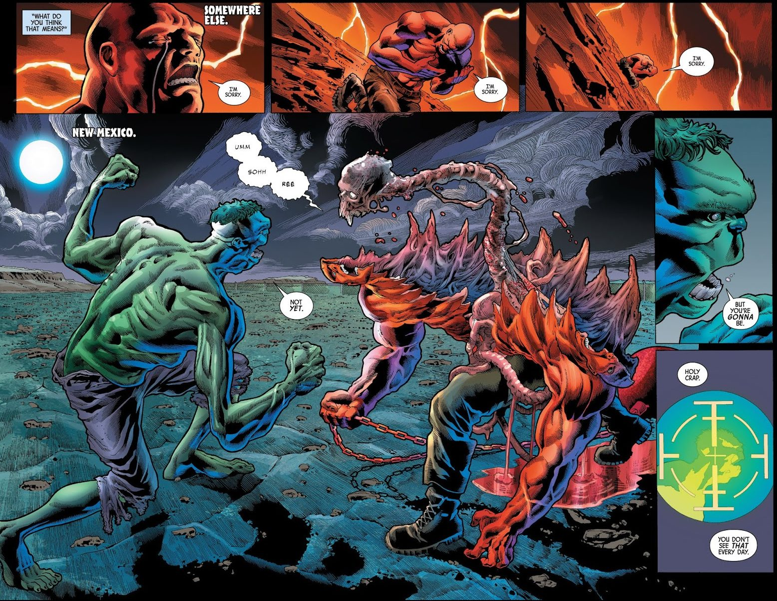 The Immortal Hulk Rips The Absorbing Man's Spine