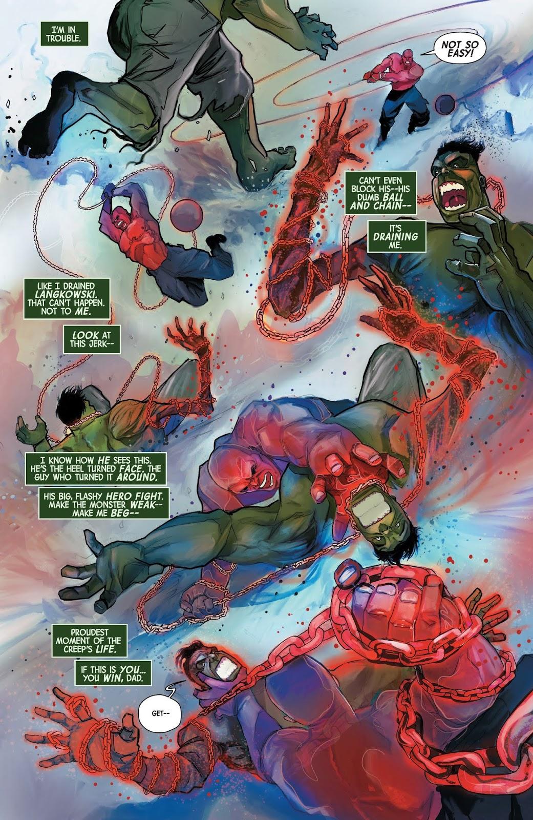 The Immortal Hulk VS The Absorbing Man