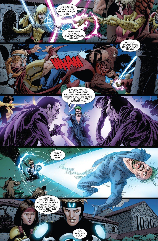 The X-Men VS The Upstarts