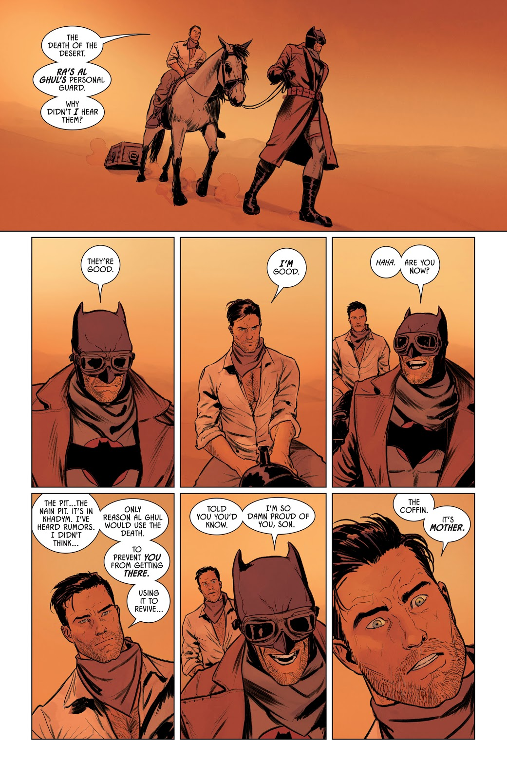 Thomas Wayne Batman VS Death Of The Desert