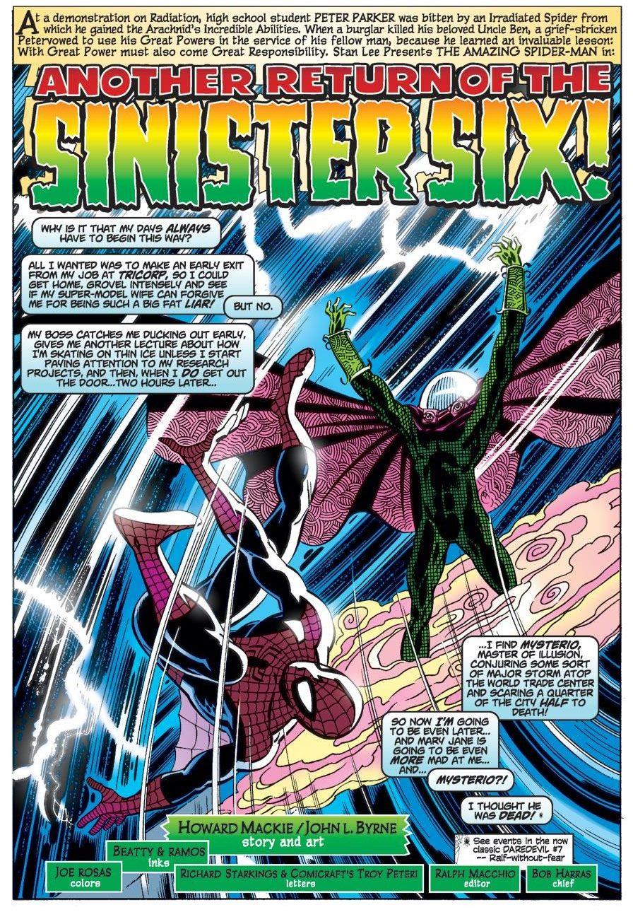 Mysterio (The Amazing Spider-Man Vol. 2 #12)