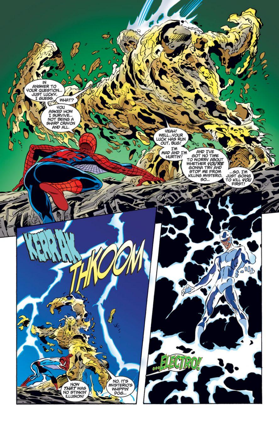 Spider-Man Saves Sandman From Mysterio