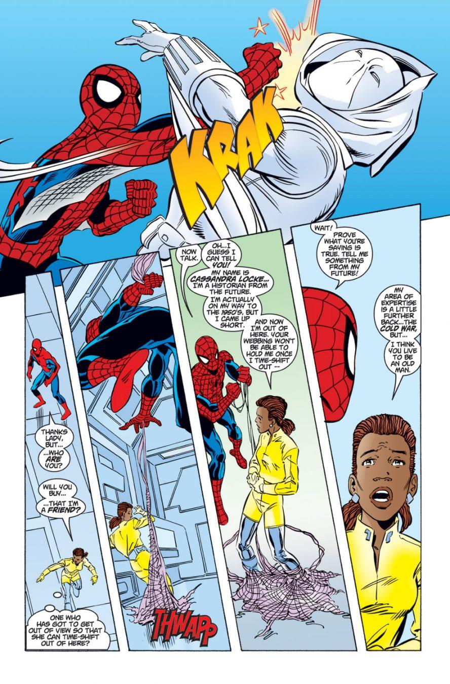 Spider-Man VS Ghost