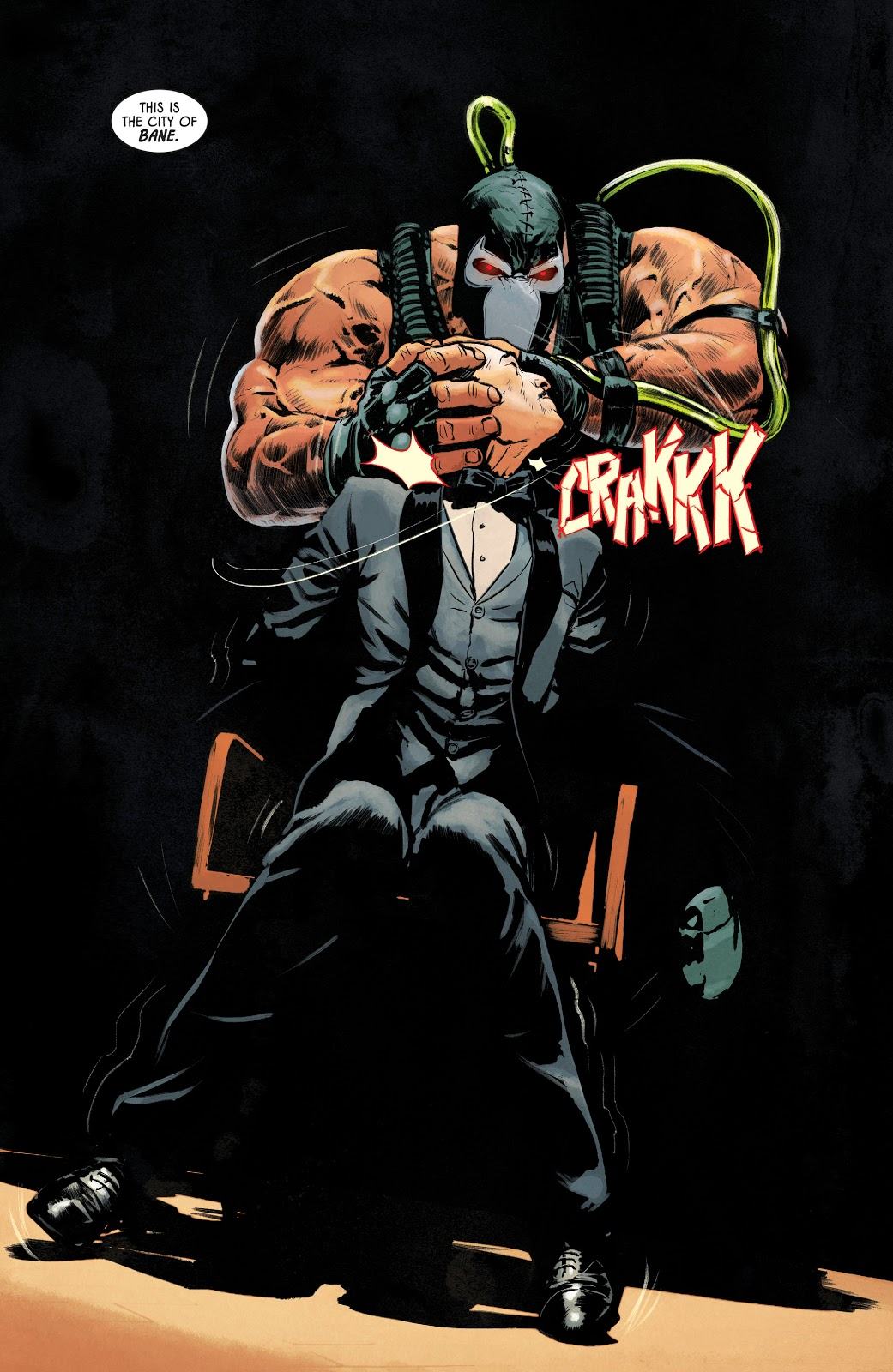 Bane Kills Alfred Pennyworth