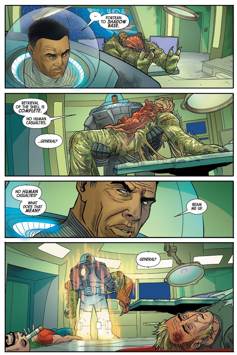 General Fortean Kills Gamma Flight