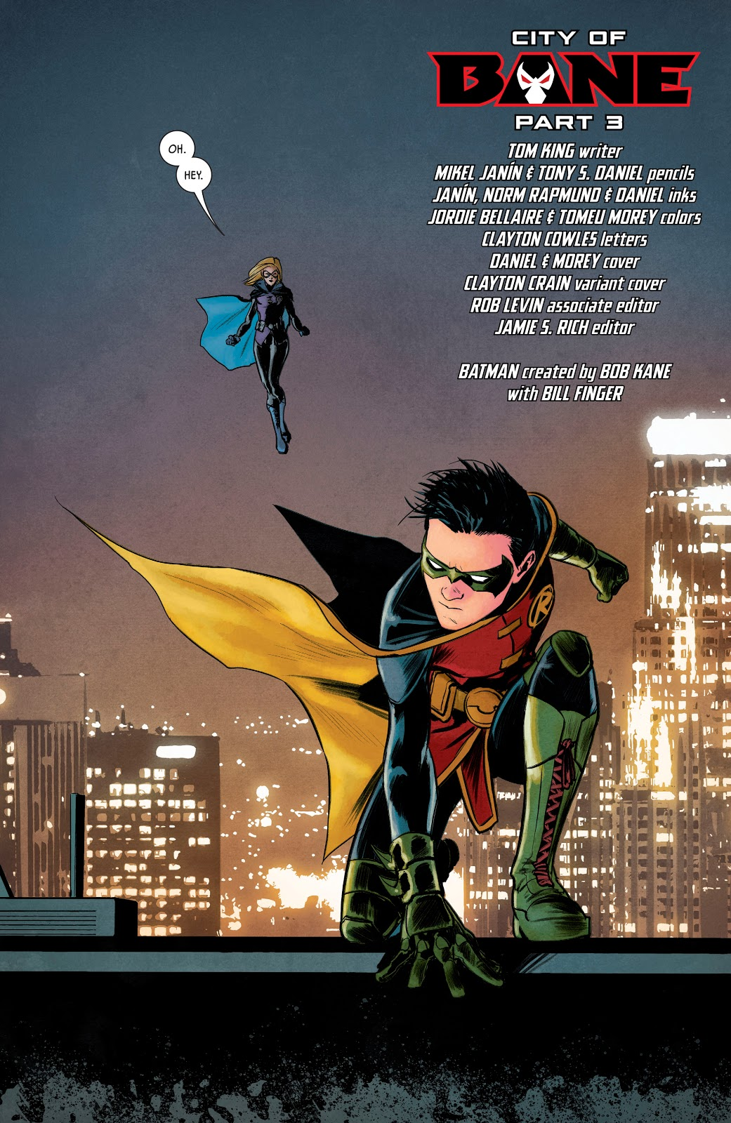 Robin VS Gotham Girl